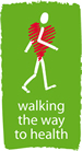 Walking the way to Health Initiative Logo